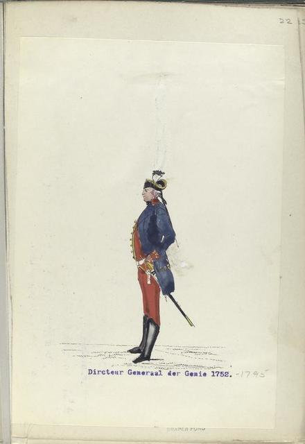 Directeur Generaal der Genie. 1752-1795