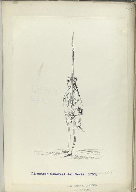 Directeur Generaal der Genie. 1760-1795
