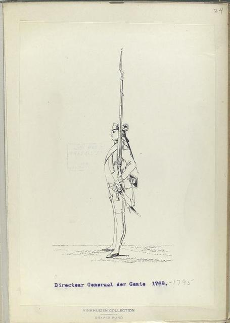 Directeur Generaal der Genie. 1769-1795