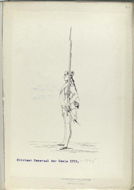 Directeur Generaal der Genie. 1775-1795