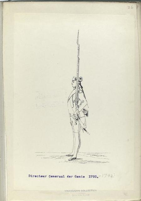 Directeur Generaal der Genie. 1793-1795