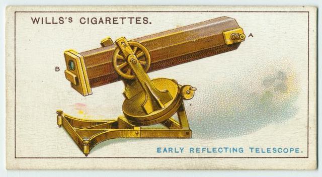 Early reflecting telescope.