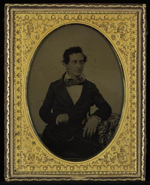 Edwin Booth framed photography