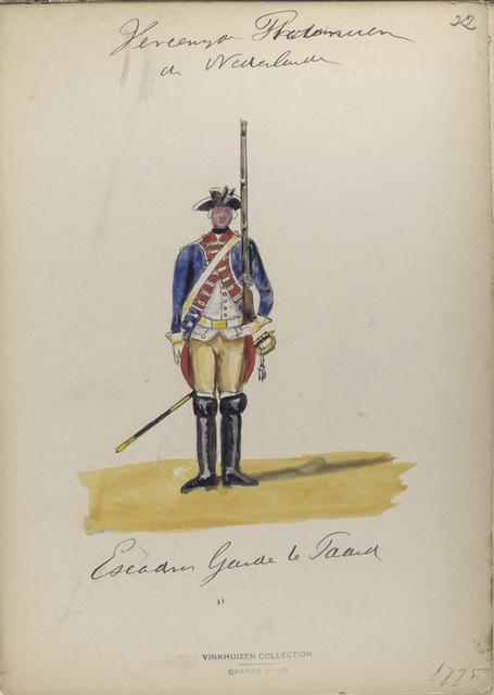 Escadron Garde te Paard. 1775