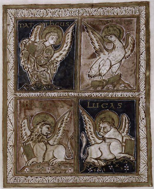 Evangelist symbols.