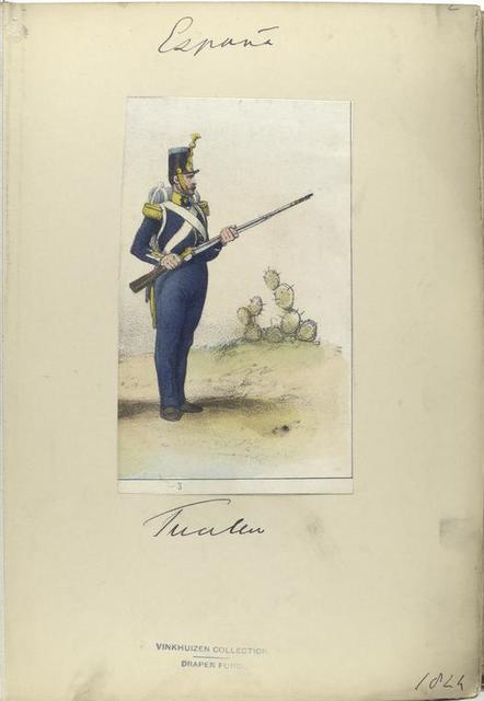 Fusilero. 1824