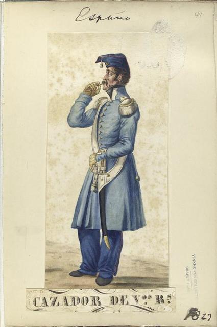 Fusilero de V-os R-s. [Voluntarios Realistas] 1823