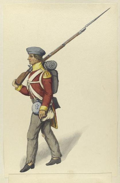 Fusilier von der brittischen Legion. 1835