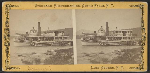 Ganouskie [steamer], Lake George, N.Y.