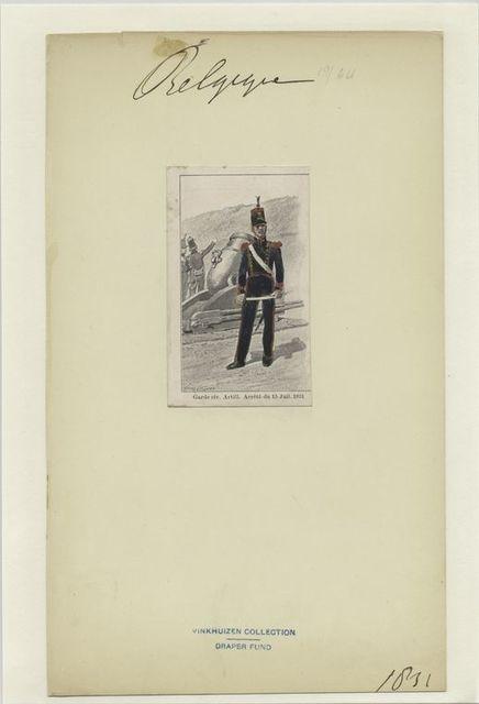 Garde civ. Artill. Arrêté du 15 Juil. 1831