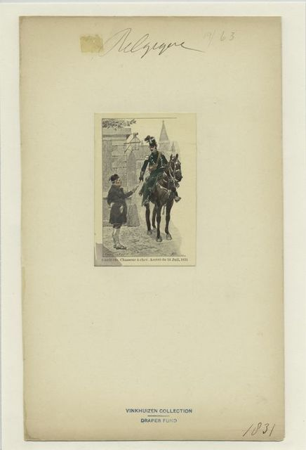 Garde civ. Chasseur à cheval. Arrêté du 14 Juil. 1831.