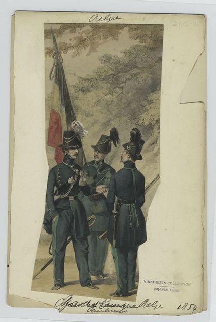 Garde civique belge, cavalerie