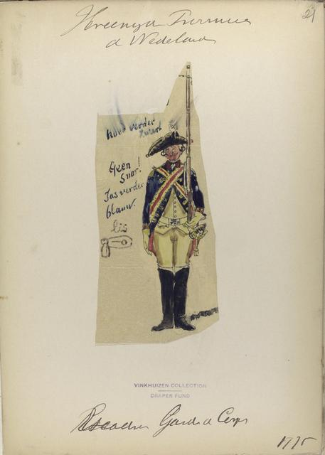 Garde du Corps. 1775