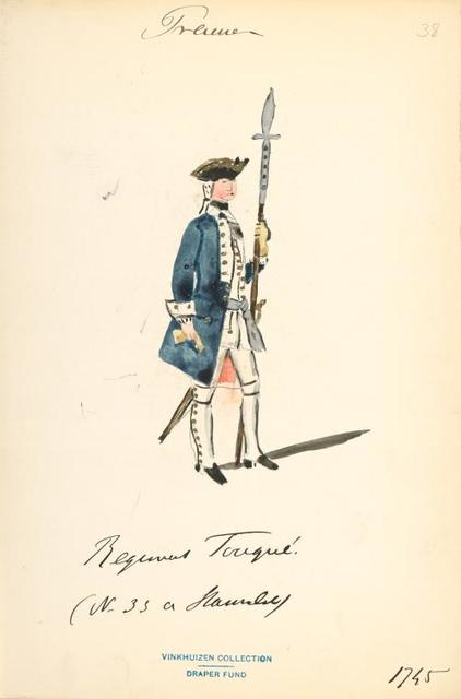 Germany, Prussia, 1740-1745