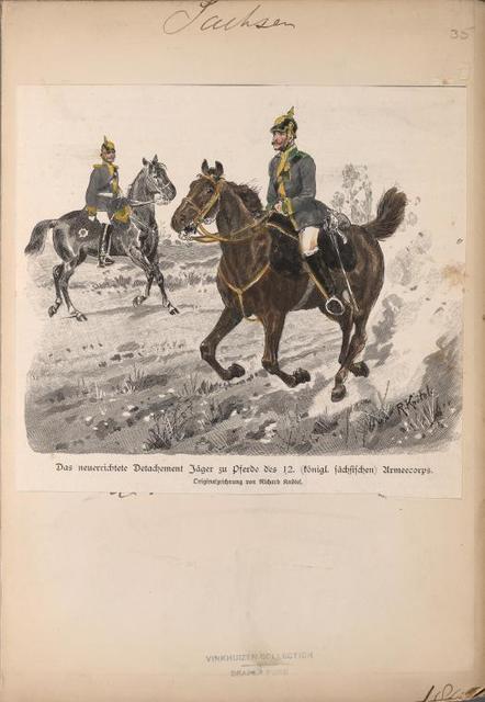 Germany. Saxony. 1896-1907