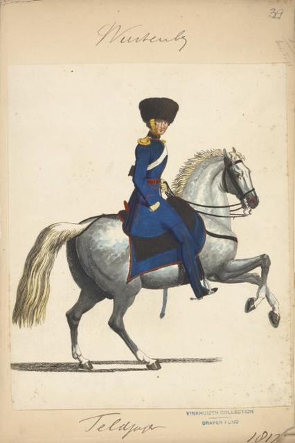 Germany, Würtemberg, 1817-1819.