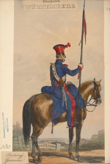Germany. Würtemberg. 1830-1837