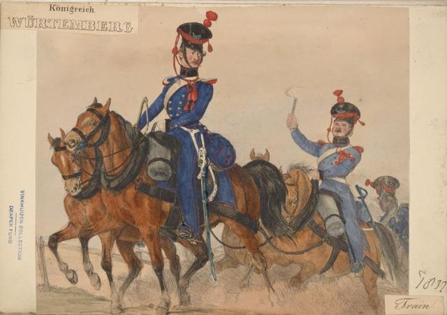Germany. Würtemberg. 1837-1849