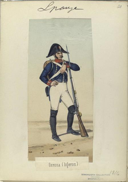 Gerona. (Ligeros)  1816