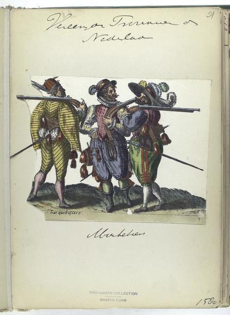 Harquebosiers [Vereenigde Provincien der Nederlanden: Musketier, 1580]