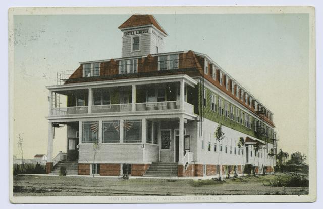 Hotel Lincoln, Midland Beach, S.I.