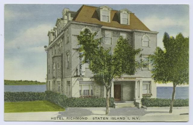 Hotel  Richmond, Staten Island