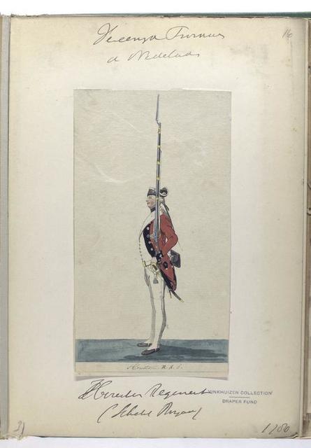 Houston Regiment (Schotsch Brigade). 1780