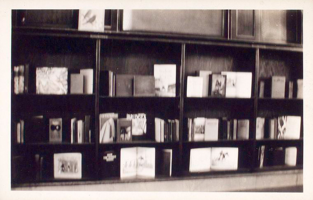 Interior, shelf display