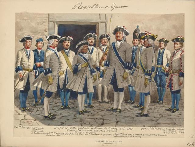 Italy. Genoa, 1685-1800