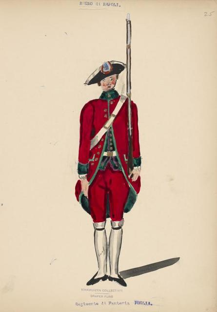 Italy. Kingdom of the Two Sicilies, 1752-1780