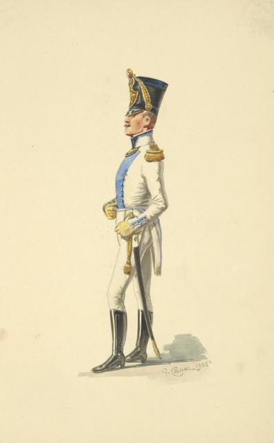 Italy. Kingdom of the Two Sicilies, 1808-1814.