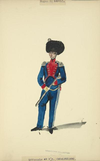 Italy. Kingdom of the Two Sicilies, 1813-1814.