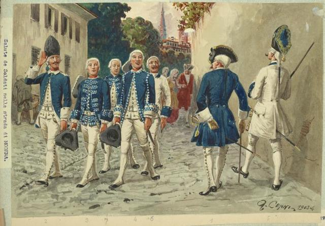 Italy. Modena, 1769-1799.