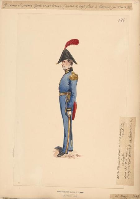 Italy. Parma, 1846-1848.