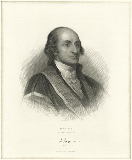 John Jay, first Chief Justice U.S.