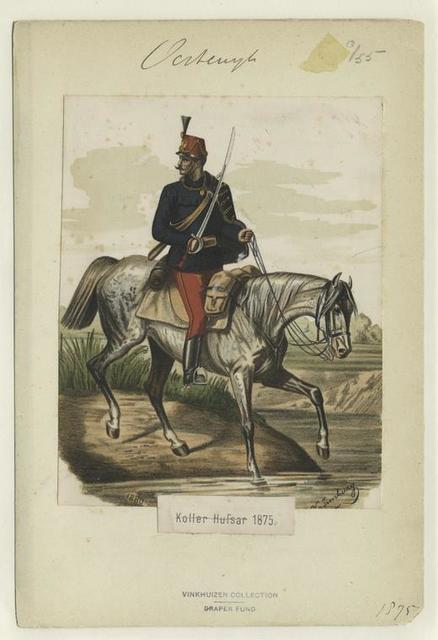 Koller Hussar. 1875