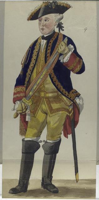 Kolonel  Garde de Corps. 1775