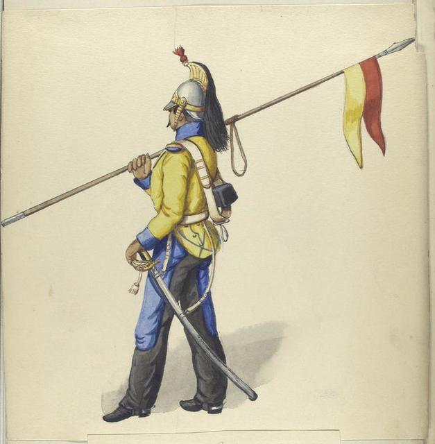 Königliche Linien Cavalerie.  1835