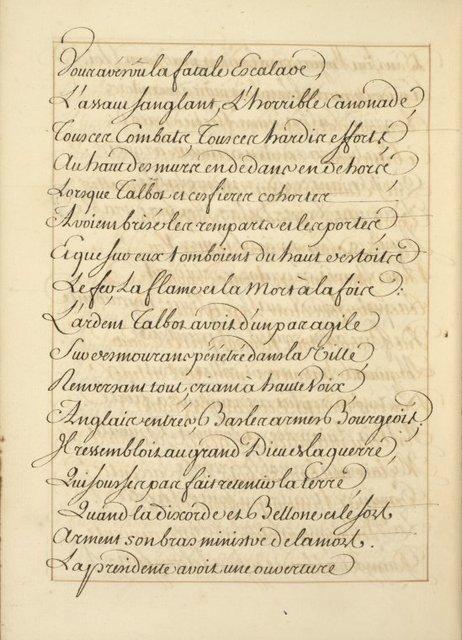 La Pucelle d'Orleans : poëme heroïcomique : manuscript, [175-?]