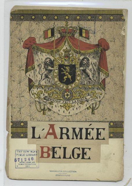 L'armée belge.