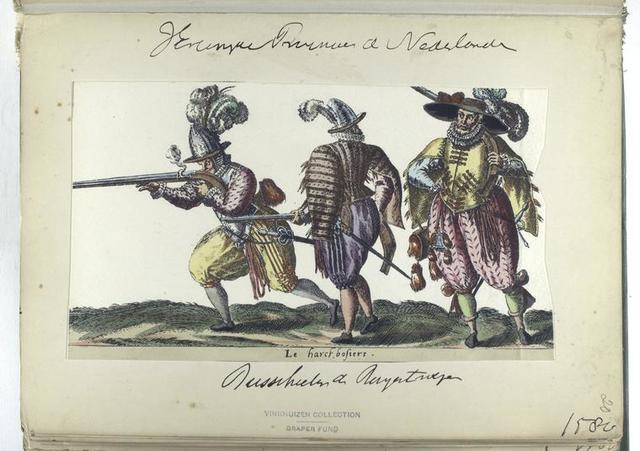 Le harcfbosiers [Vereenigde Provincien der Nederlanden: [...]sschut[t]er de rugertroepen, 1580] [??]