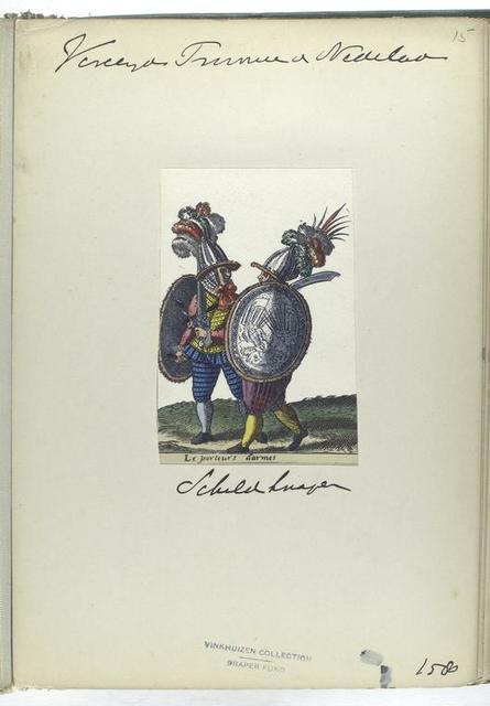 Le porteurs darmes [Vereenigde Provincien der Nederlanden: schuld [d]rager, 1580]