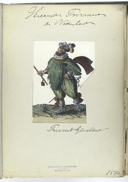 Le prouost [Vereenigde Provincien der Nederlanden: provost geneldire [?], 1580]