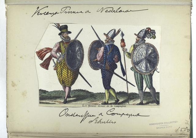 Les gentils homes de la compagnie [Vereenigde Provincien der Nederlanden: onderofficier d compagnie schutters, 1580]