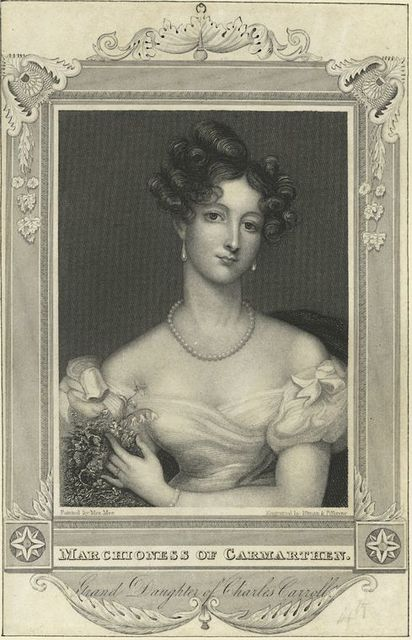 Marchioness of Carmarthen Grand Daughter of Charles Carroll