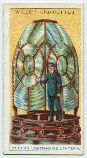 Modern lighthouse lantern.