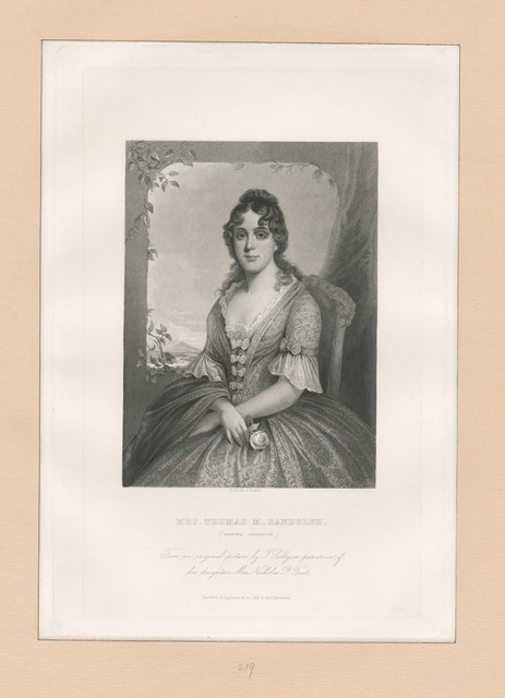 Mrs. Thomas M. Randolph (Martha Jefferson)