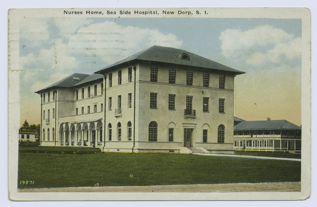 Nurses(sic) Home, Sea Side Hospital, New Dorp, Staten Island