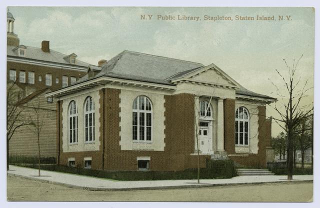 N.Y. Public Library, Stapleton, Staten Island, N.Y.