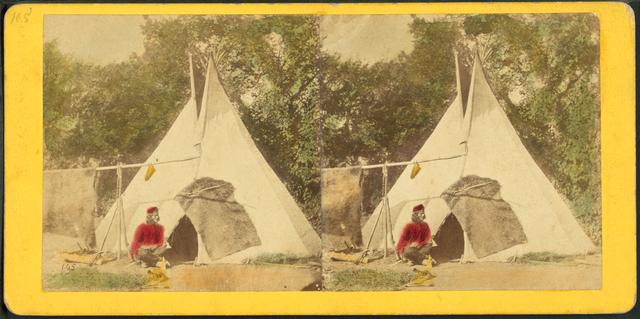 Omaha Indian tent.